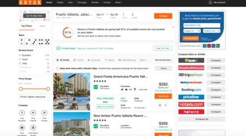 Best and Worst Hotel Booking Sites