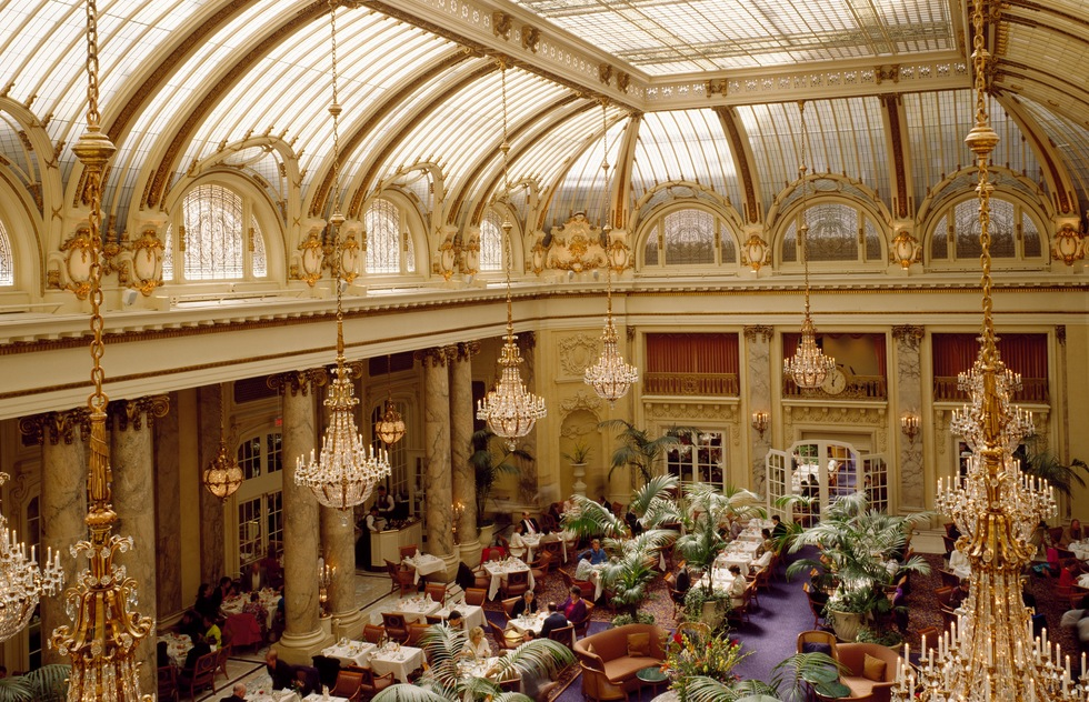 The Garden Court at the Palace Hotel in San Francisco