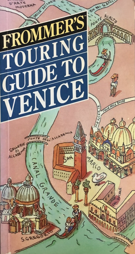Frommer's Touring Guide to Europe (cir. 1990)