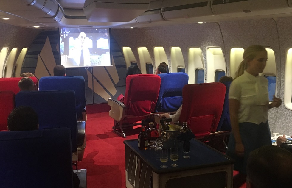 Screened in-flight movies