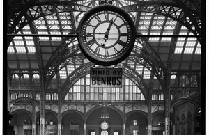New York City's old Pennsylvania Station, which was demolished in 1963