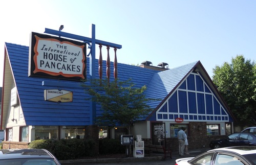 A now-closed IHOP restaurant in Raleigh, North Carolina