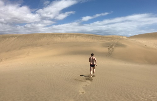 Do the dunes of La Charca