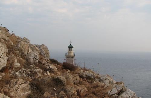 Cape Matapan on Greece's Mani Peninsula