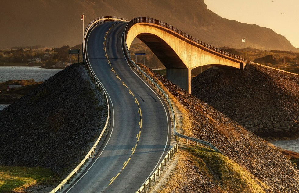 Norway's Atlantic Ocean Road