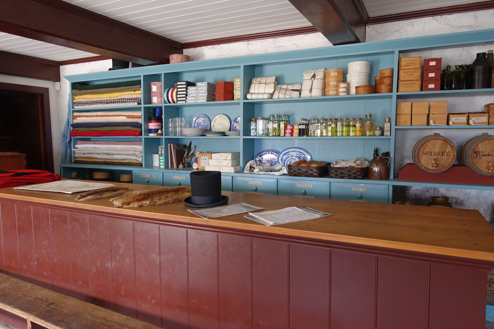 The old general store on Mackinac Island, Michigan