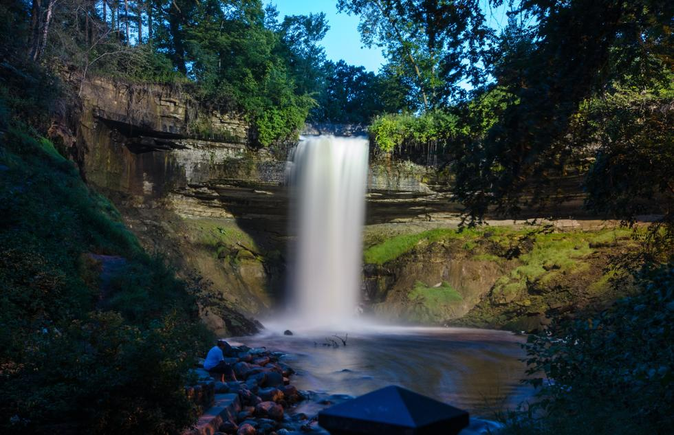 The 53-foot waterfall is the star of Minnehaha Park.