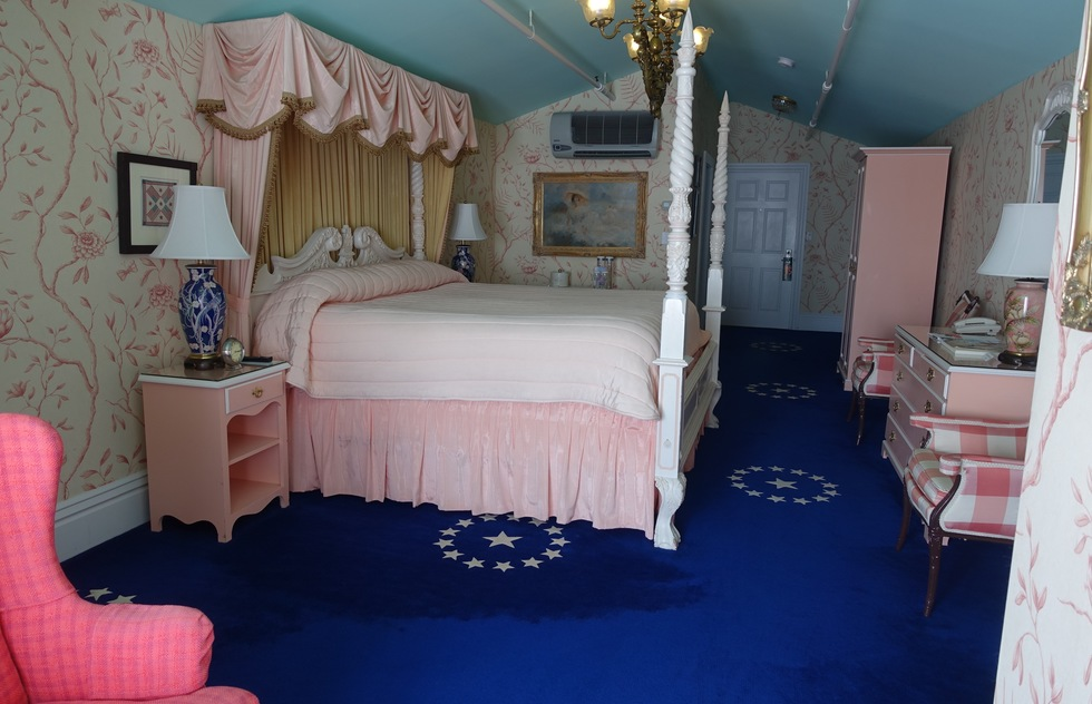 The Rosalyn Carter Suite at the Grand Hotel in Mackinac Island, Michigan
