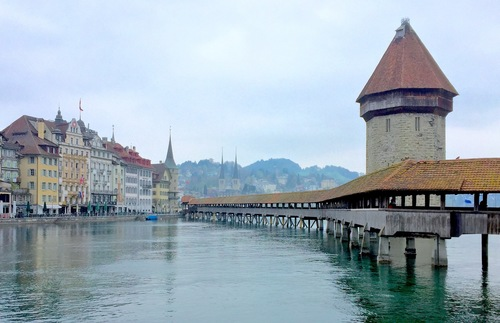 Lovely Lucerne, the Journey's Starting Point