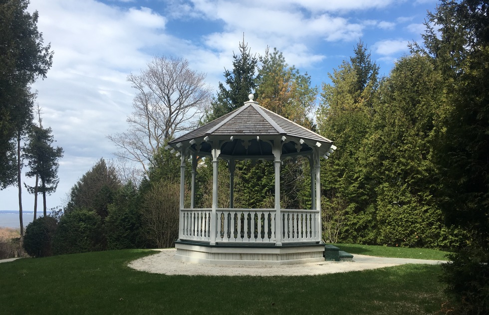 The Gazebo from Somewhere in Time