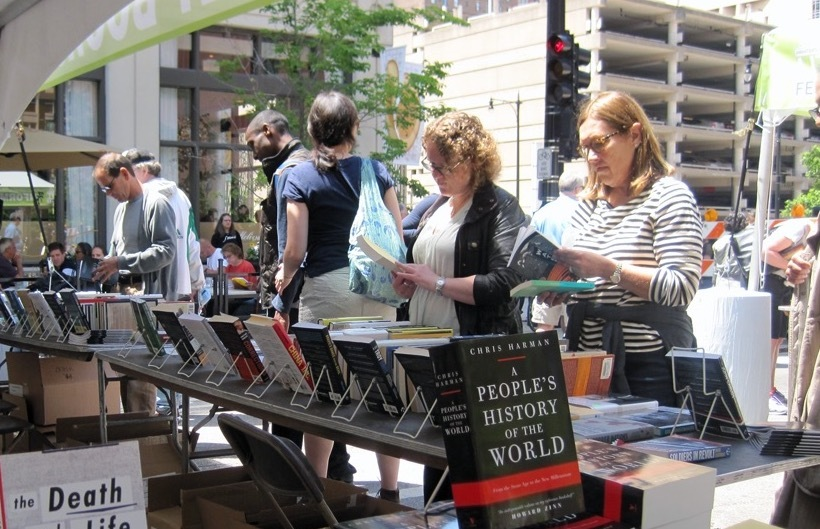 The Printer's Row Lit Fest in Chicago