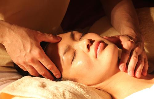 Romance is easy at a luxurious massage.