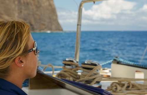 A Lanai sailing excursion from Trilogy
