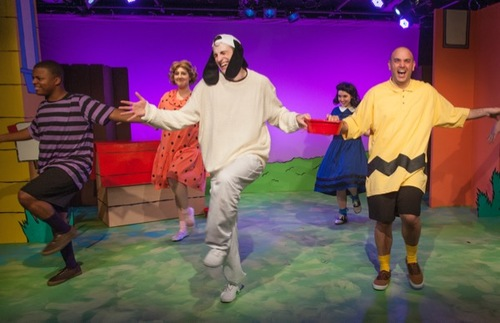 Mile Square Theatre's production of You're a Good Man Charlie Brown