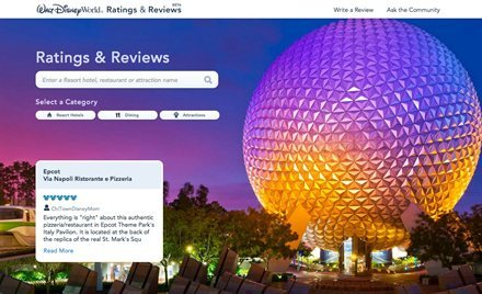 Disney World in Orlando Rolls Out Its Own User-Generated Reviews: A Good Idea? | Frommer's