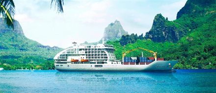 "French Polynesia's Fun New ""Passenger Freighter"" Tours the Spectacular South Pacific Islands 