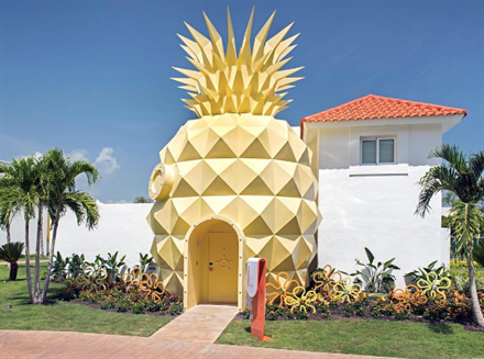 SpongeBob Pineapple Suite at Nickelodeon's New Beach Resort | Frommer's