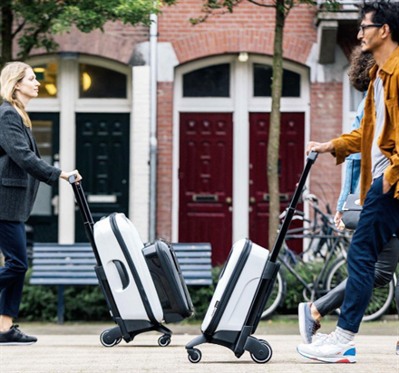 Innovative Wheeled Luggage You Push Instead of Pull | Frommer's