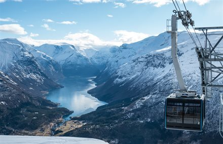 Incredibly Steep Aerial Tram Soon to Open in Norway | Frommer's