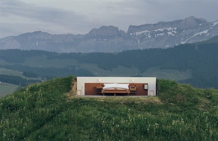 A Hotel Without Walls or Ceilings in the Swiss Alps | Frommer's