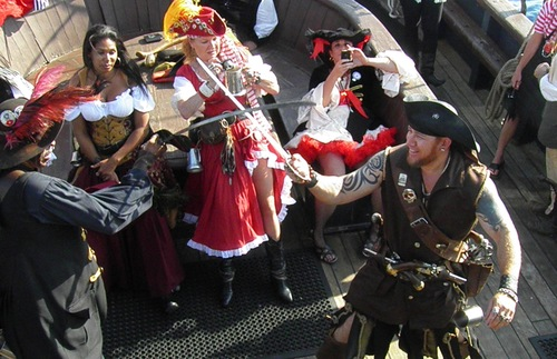 Pirates Week festivities in the Cayman Islands