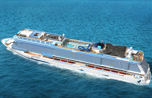 The New Cruise Ship with a Go-Kart Track on Top | Frommer's