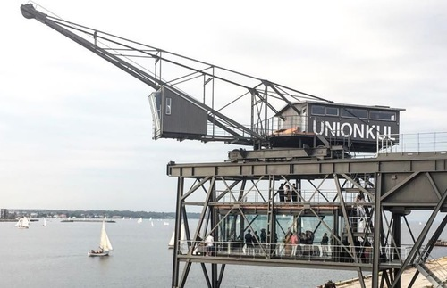 Industrial Crane in Copenhagen Converted to Luxury Hotel Room | Frommer's