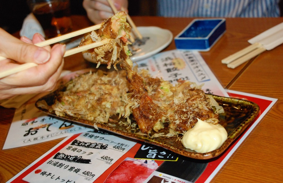 DON'T: Abuse your chopsticks in Japan
