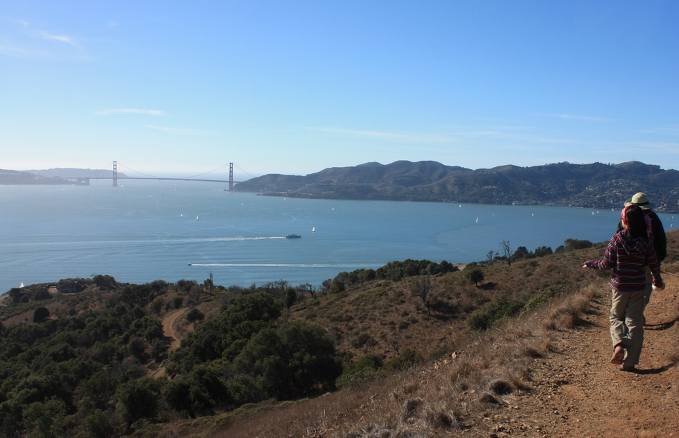 View of San Francisco Bay from Angel Island