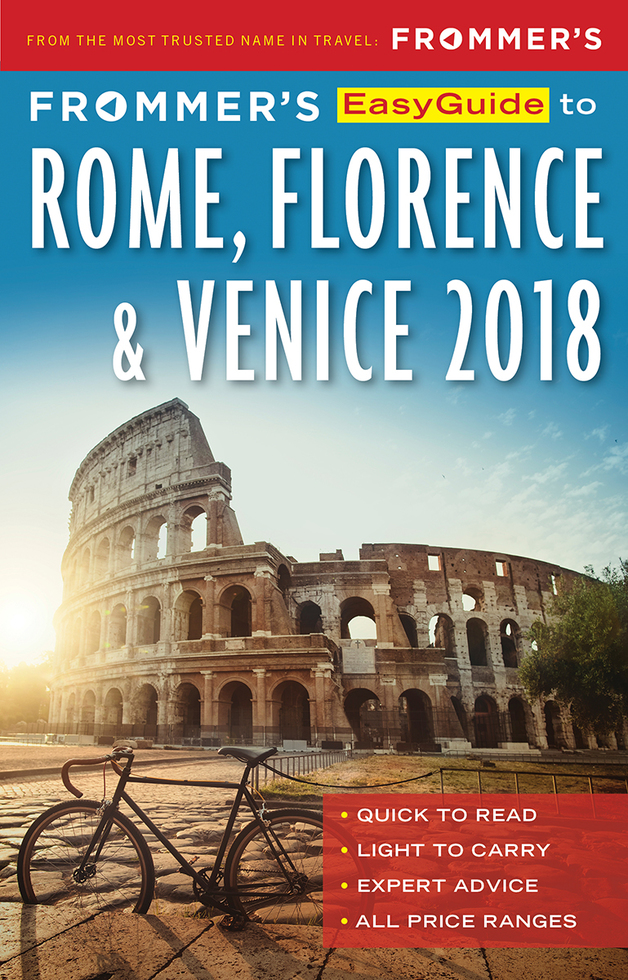Frommer's Rome, Florence and Venice 2018