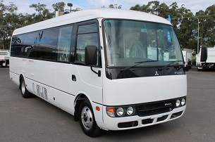 34 seater rosa bus for rent