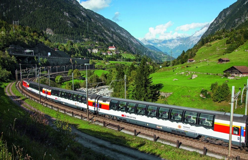 Best Places to Go 2018: The Gotthard Panorama Express, The Alps, Europe