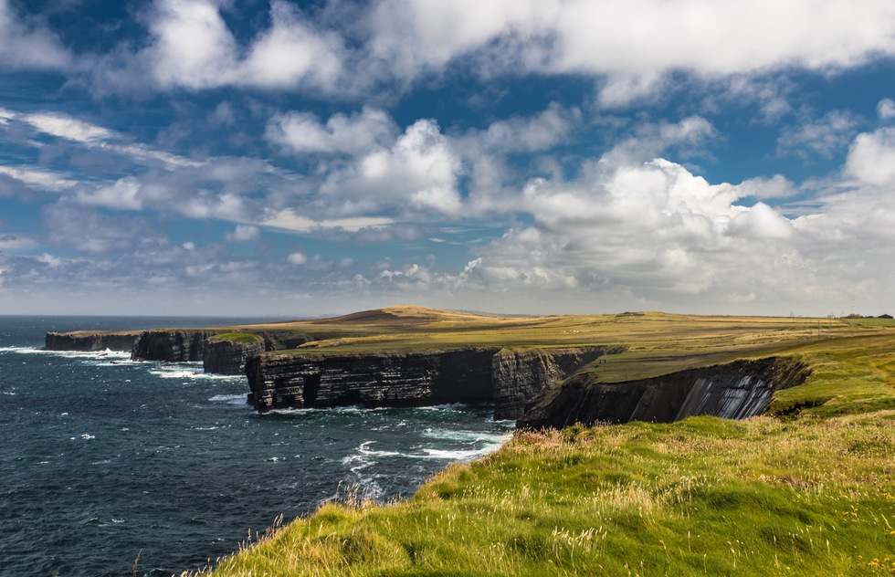 Loop Head Peninsula in County Clare, Ireland