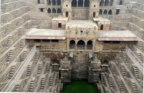 Chand Baori stepwell, Rajasthan, India