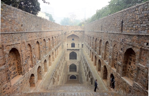Agrasen Ki Baoli stepwell, Delhi, India