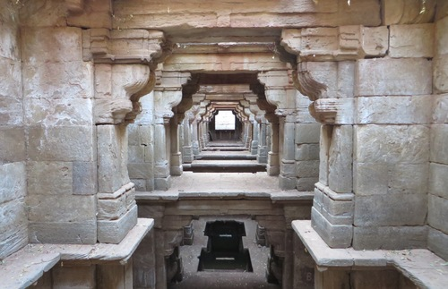 Rataba Vav stepwell, Gujarat, India