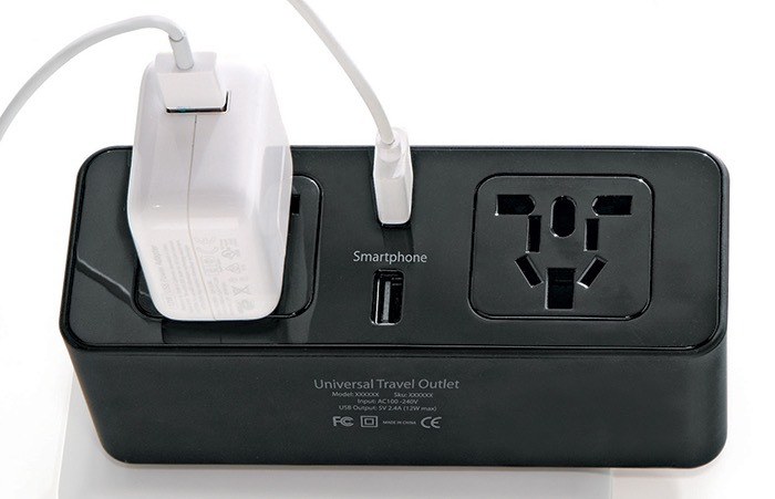 Universal Travel Outlet, $49