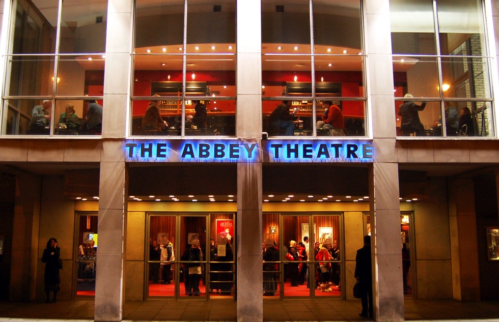 Abbey Theatre in Dublin