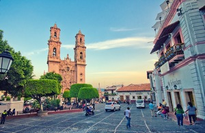 Great towns in Mexico