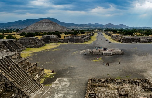 Pyramids in Teotihuacán, State of Mexico