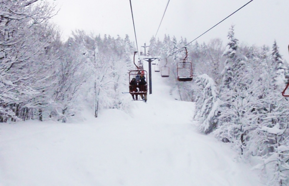 Magic Mountain Ski Area in Londonderry, Vermont