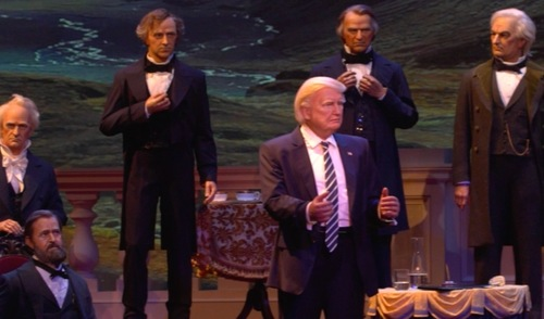 It's Here: Donald Trump Robot Unveiled at Disney's Hall of Presidents | Frommer's