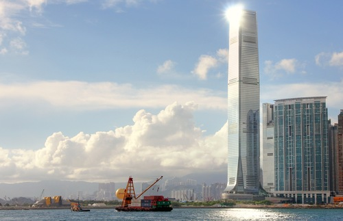 International Commerce Centre in Hong Kong