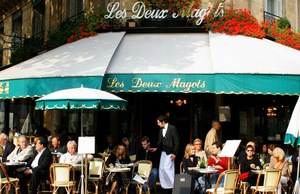 Les Deux Magots cafe in Paris