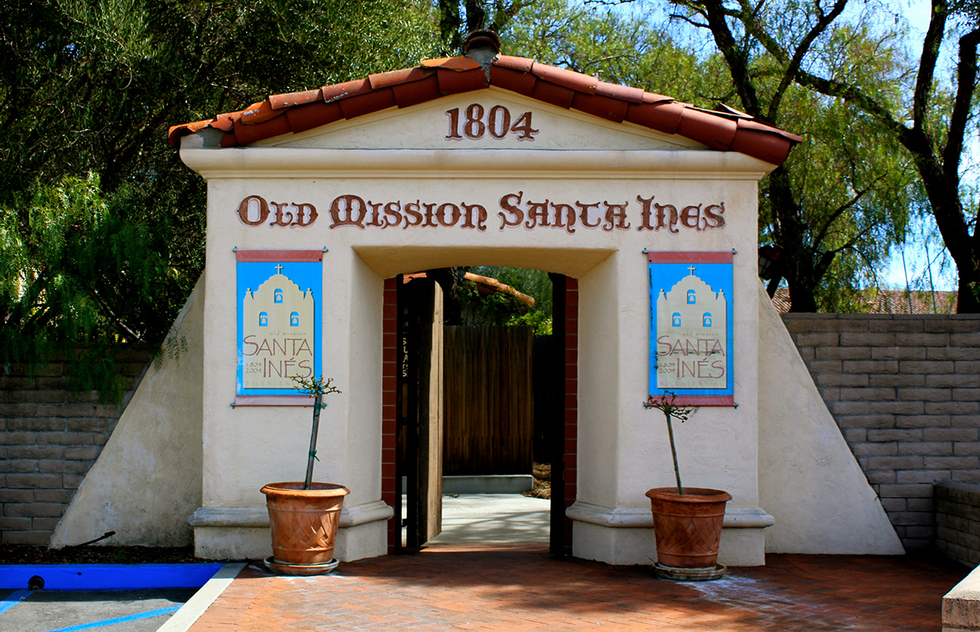 The Old Mission Santa Ines in Solvang, CA