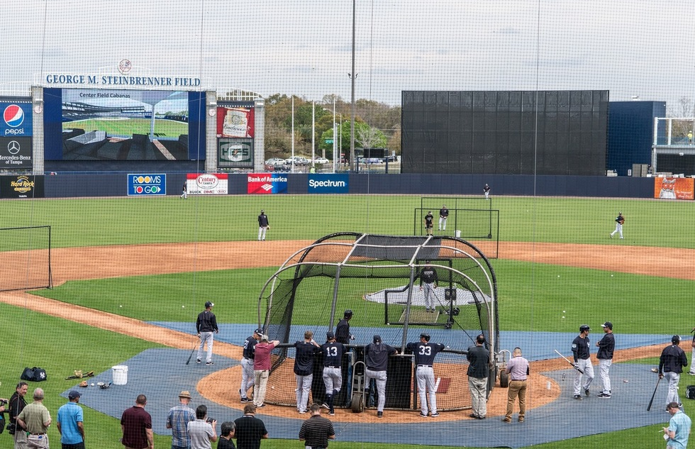 George M. Steinbrenner Field in Tampa, Florida