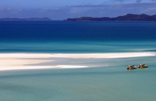 The Whitsunday Islands in Australia