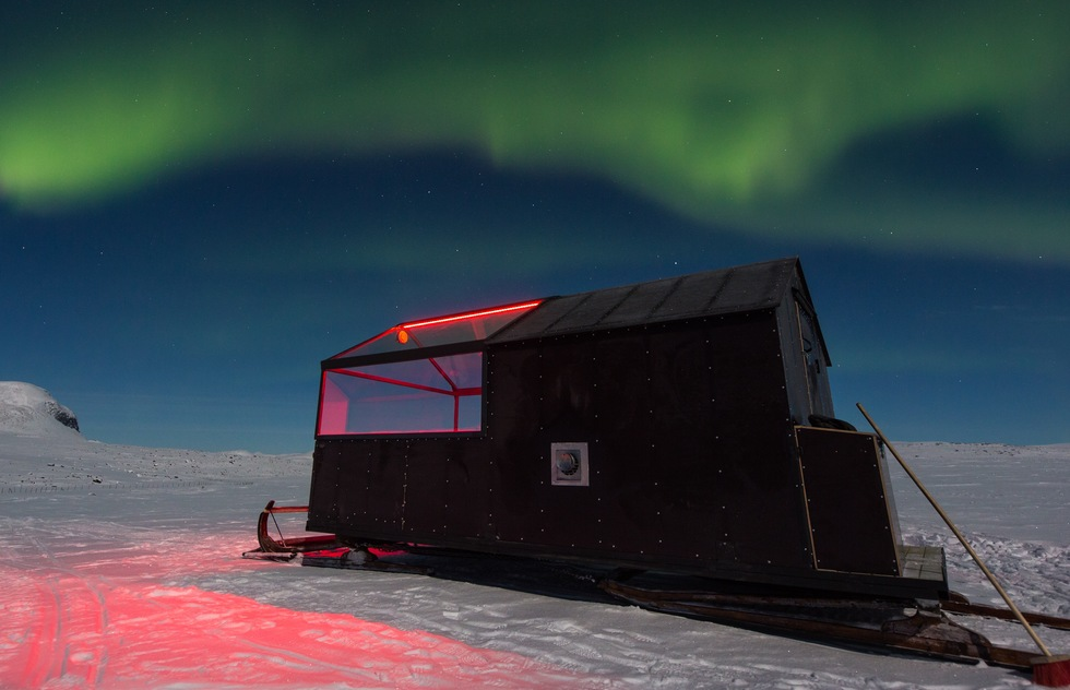 Hotel on Skis Debuts in Finland for Northern Lights Viewing | Frommer's