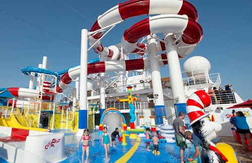 Dr. Seuss WaterWorks on the Carnival Horizon