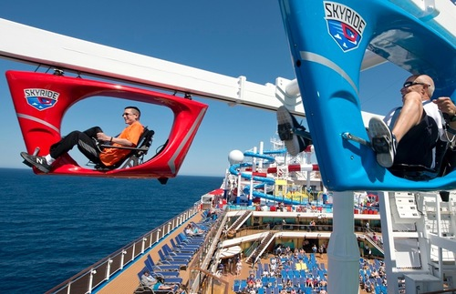 SkyRide on the Carnival Horizon